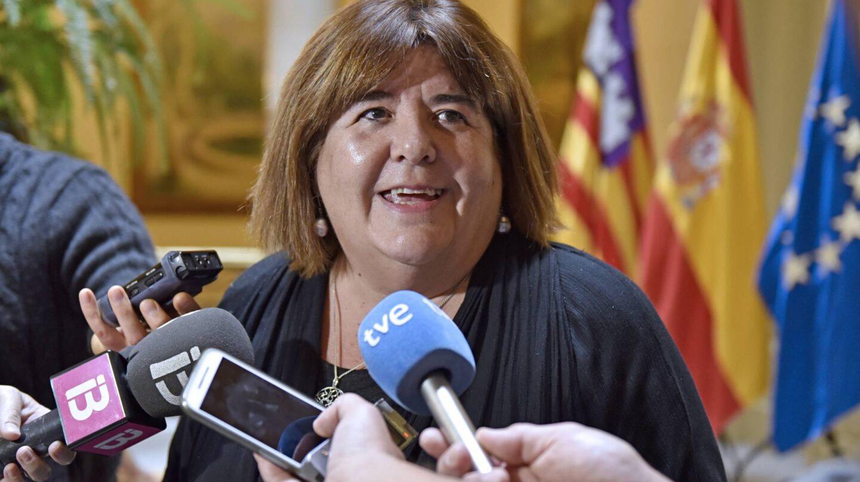 La presidenta del parlamento balear, Xelo Huertas.