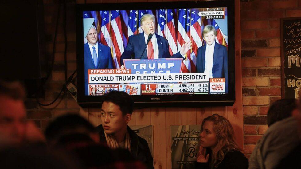 Donald Trump gana las elecciones en EEUU.