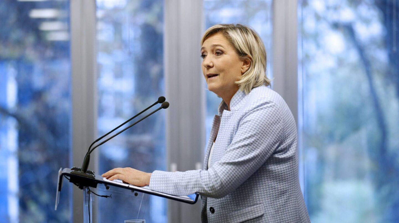 Marine Le Pen, líder del Frente Nacional, en una comparecencia esta semana ante la prensa.