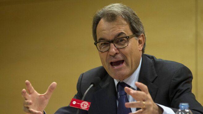 Artur Mas, este jueves durante una conferencia en Sabadell.