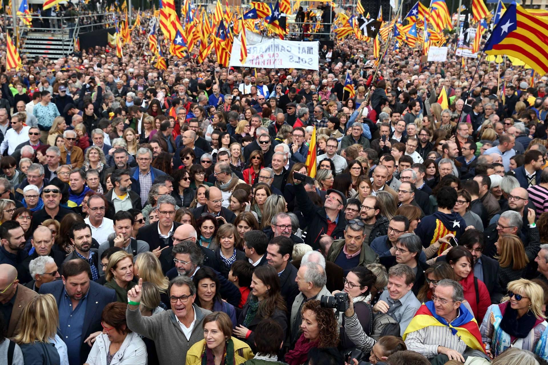 Manifestacion Cataluña
