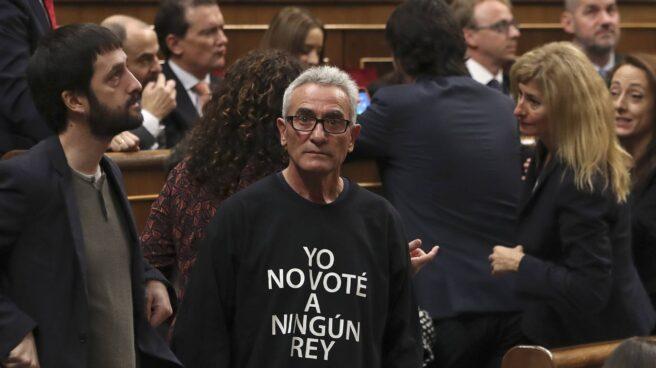 Diego Cañamero, diputado de la coalición Unidos Podemos