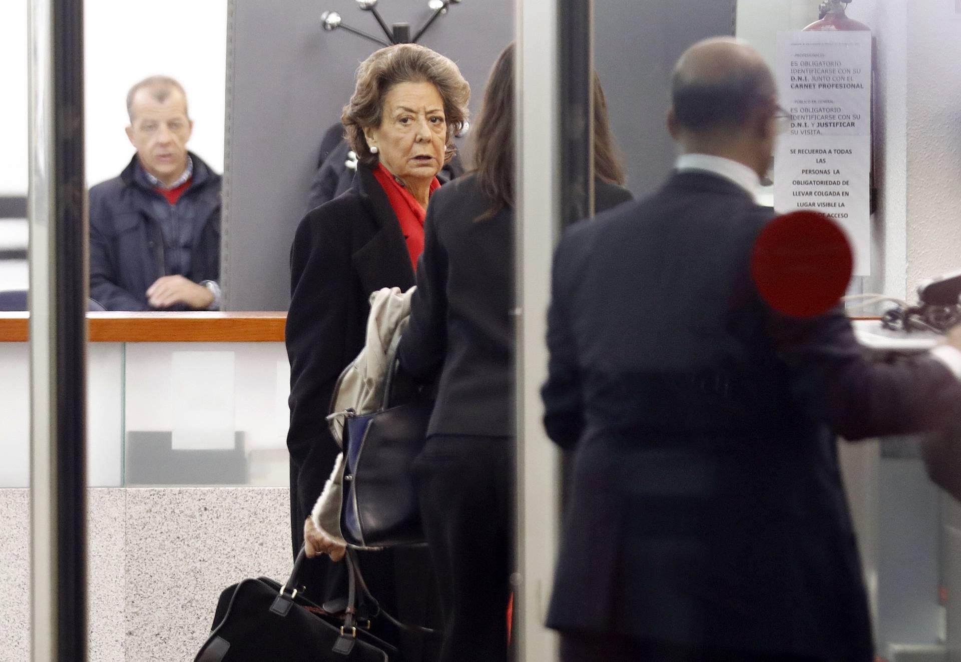 Rita Barbera en el Tribunal Supremo