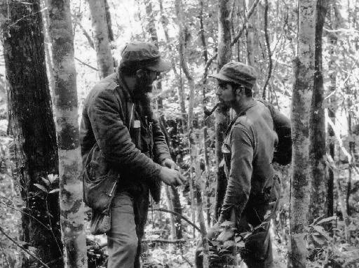 Fidel Castro y Che Gevera