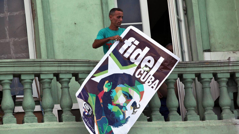 Cartel Fidel Castro