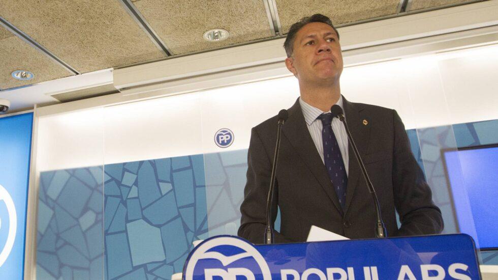 Xavier García Albiol, líder del PP en Cataluña y ex alcalde de Badalona.