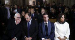 Aznar en el funeral de Rita Barbera