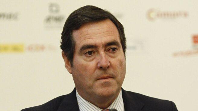 Presidente de Cepyme, Antonio Garamendi