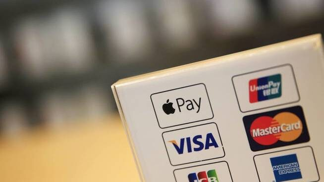 El logo de Apple Pay, indicando que el usuario tiene disponible el uso de esta aplicación.