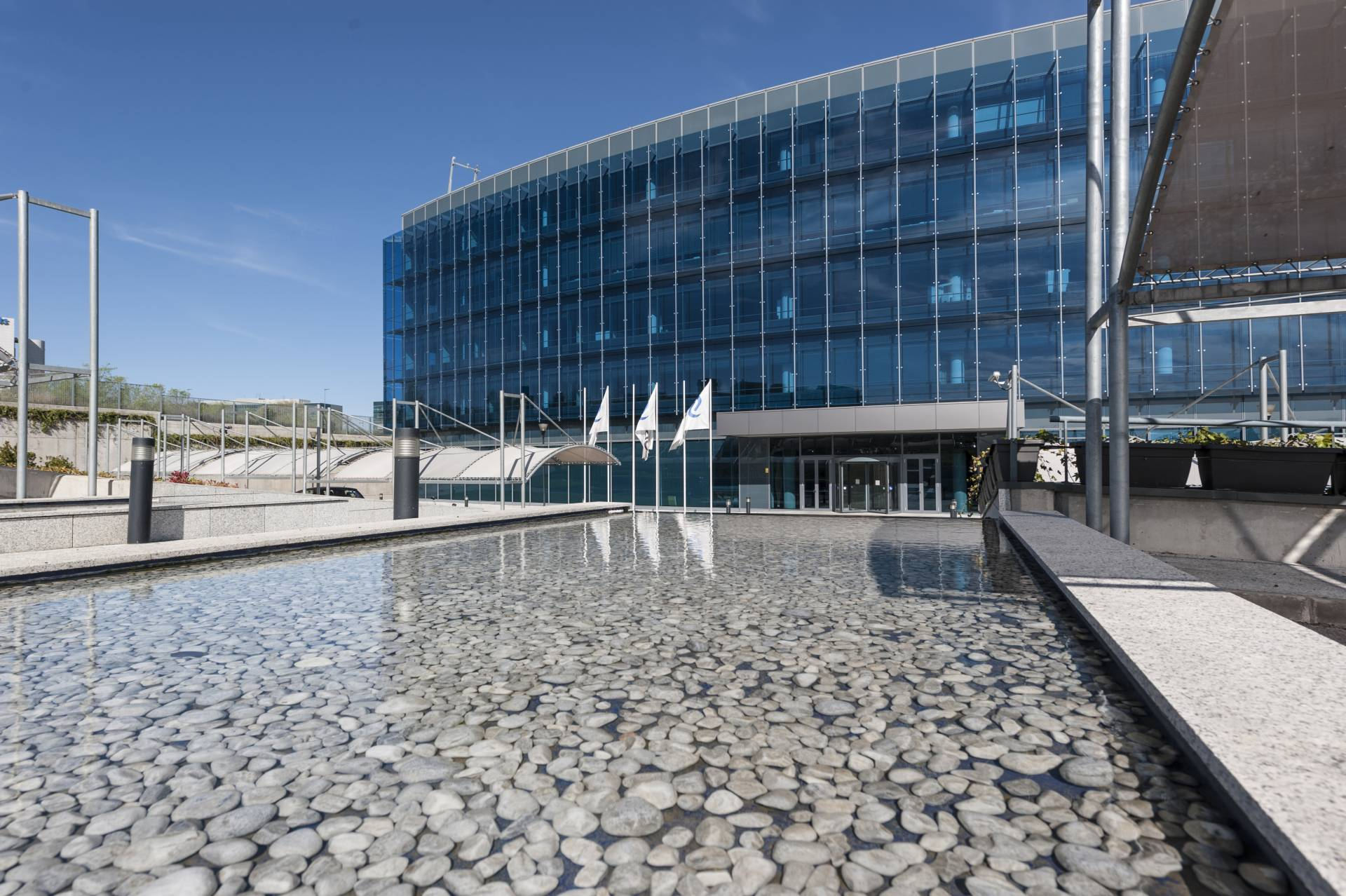 Edificio Aquamarina, un edificio de oficinas en Madrid de clase A.