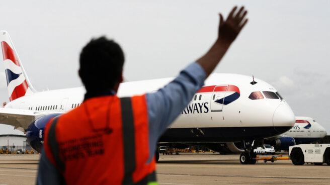 Un avión de British Airways.