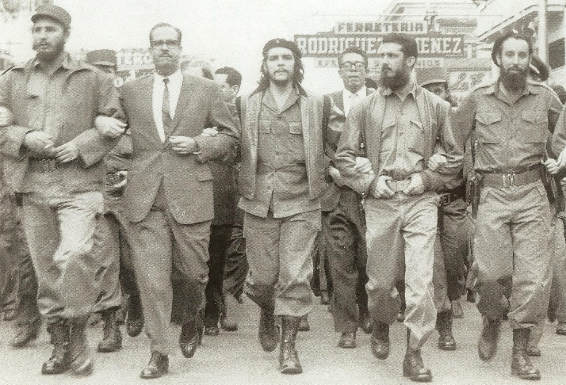 Fidel Castro, la revolución de los barbudos