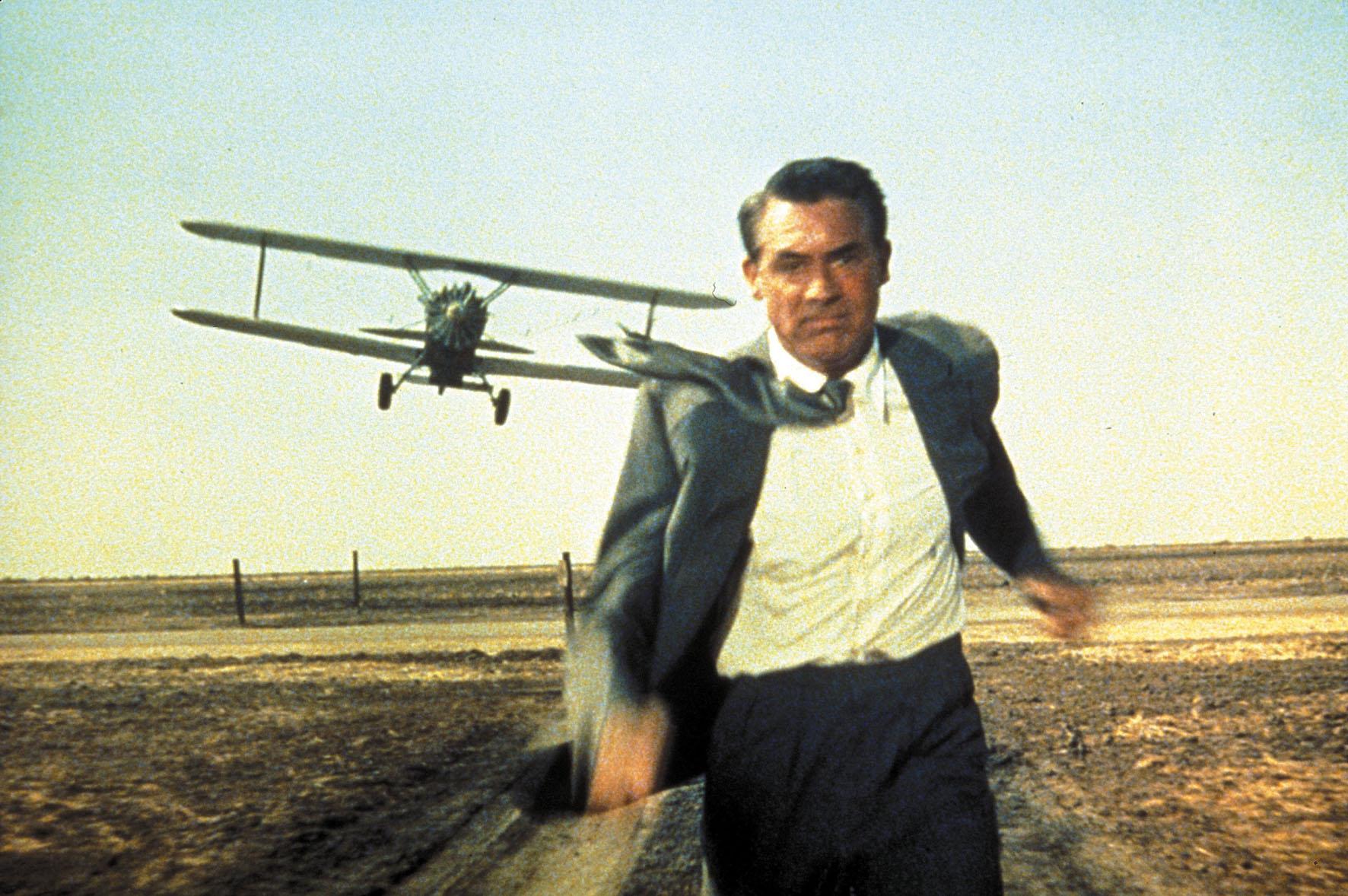 Cary Grant protagonizó Con la muerte en los talones.
