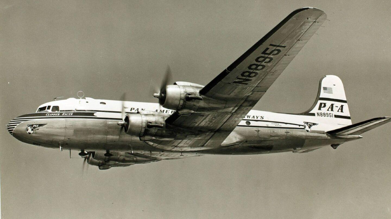 Avión de la aerolínea Pan Am.