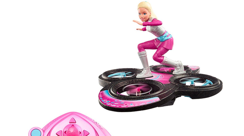 Barbie Dron Skate