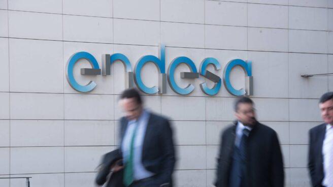 Fachada de la sede central de Endesa en Madrid.