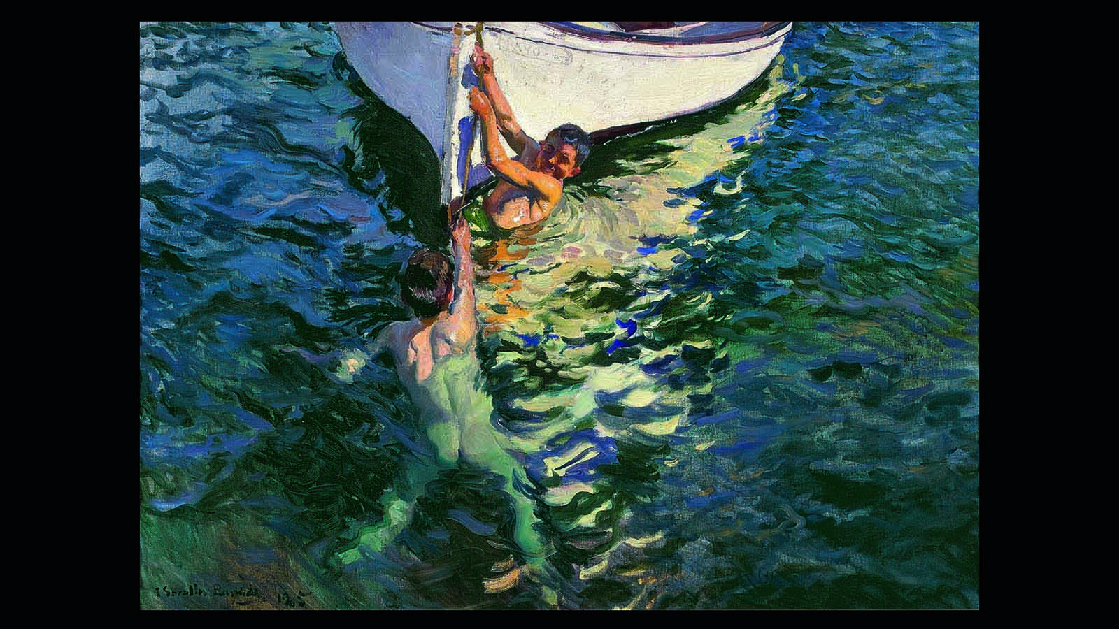 El Bote blanco, Jávea (1905)