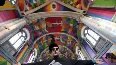 Okuda, de grafitero de barrio a artista global