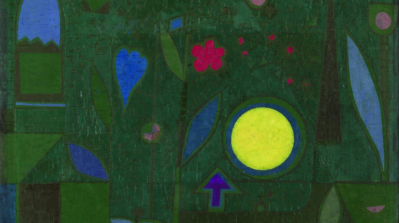 Luna llena en el jardín de Paul Klee