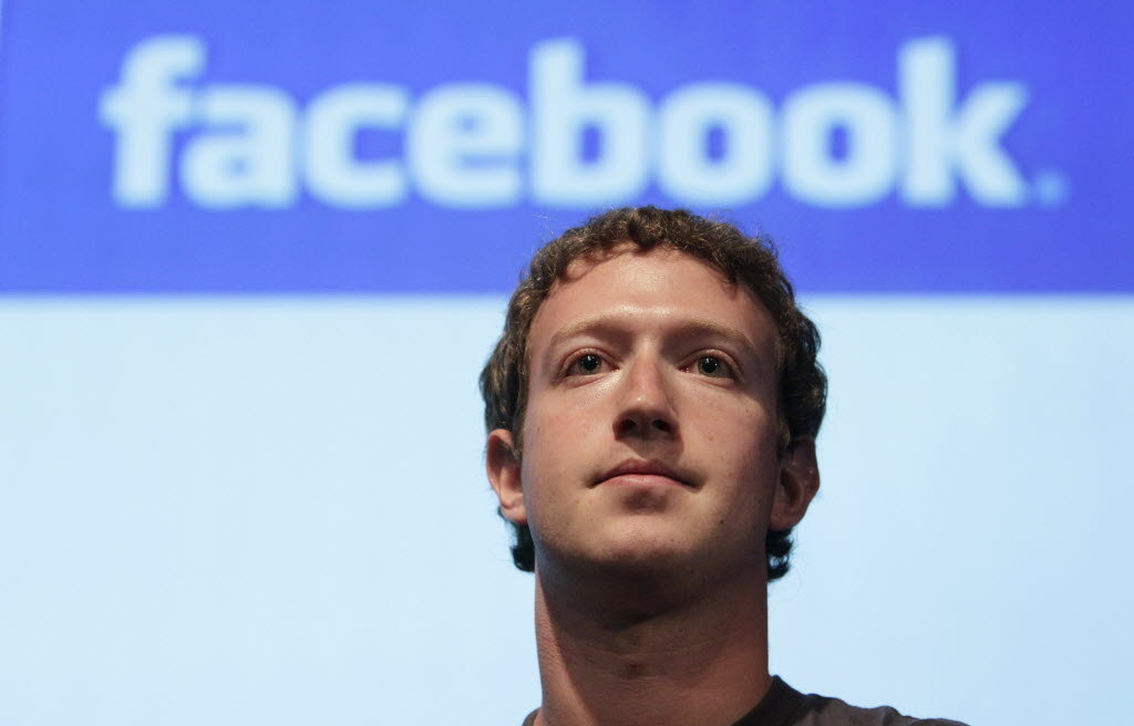 El fundador y CEO de Facebook, Mark Zuckerberg, durante una conferencia de la compañía.