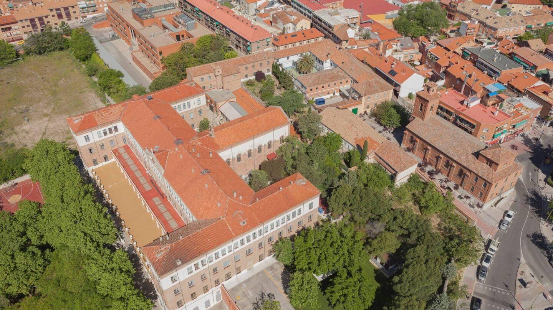 Vista aérea del recinto de la congregación de los Padres Paúles.