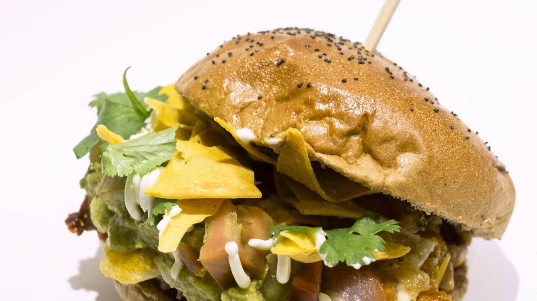 La hamburguesa El Vampiro, de Perro Bar.