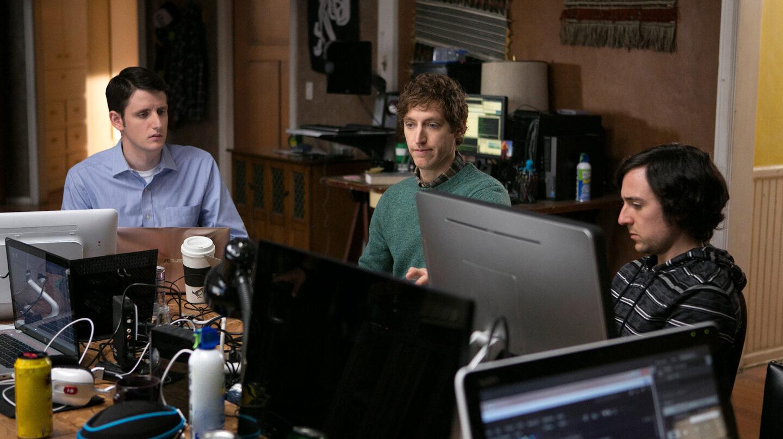 Imagen de la serie Silicon Valley, uno de los productos estrellas de HBO.