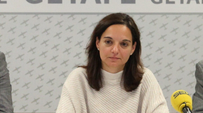 La secretaria general del PSM y alcaldesa de Getafe, Sara Hernández.