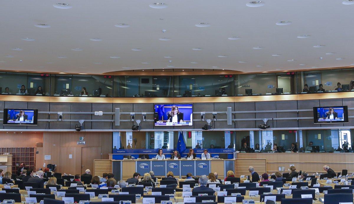 Intervención de Susana Díaz ante el grupo de Socialistas y Demócratas del Parlamento Europeo.