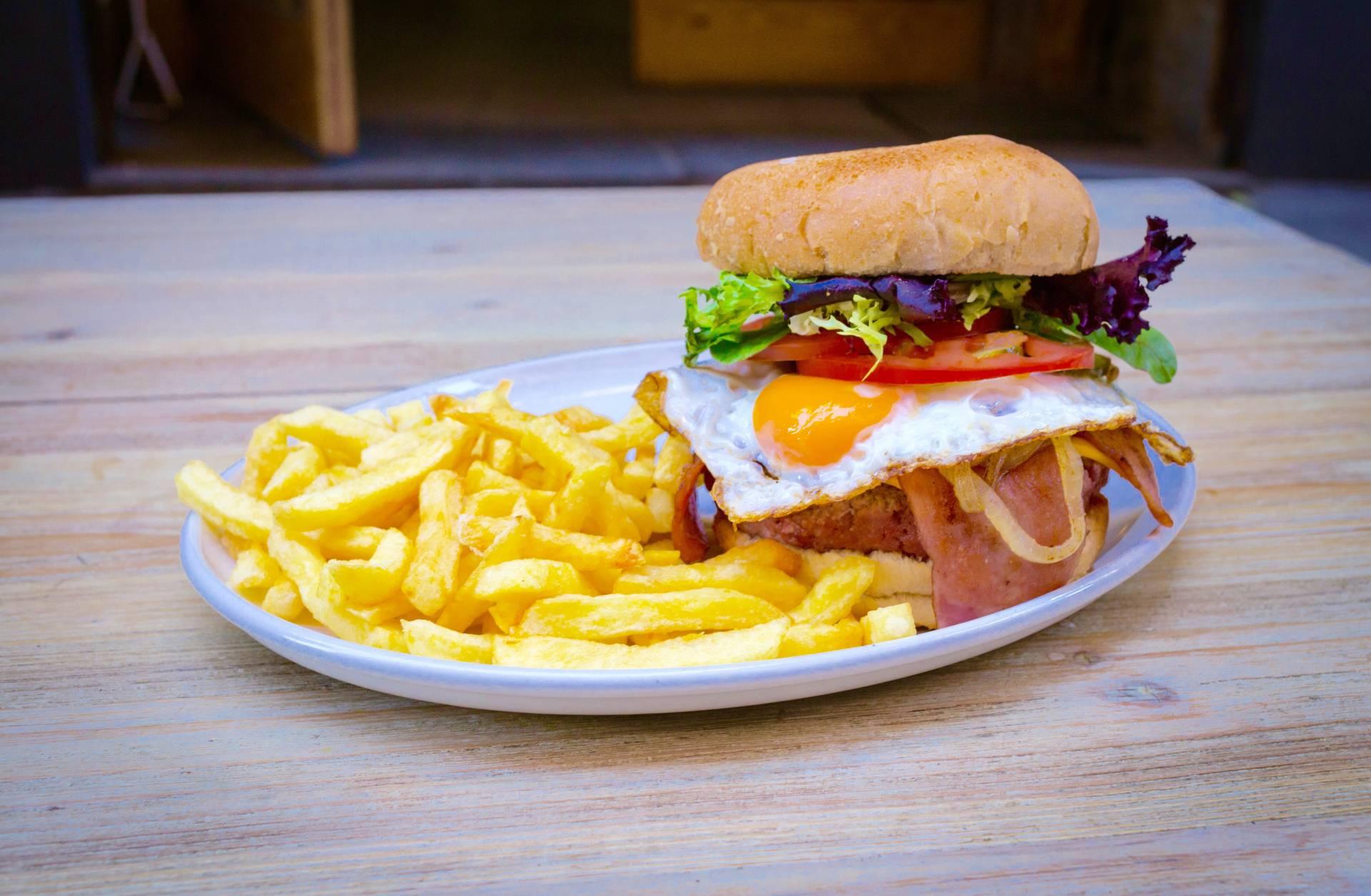 La hamburguesa 'True Detective' de Alta Burguesía.