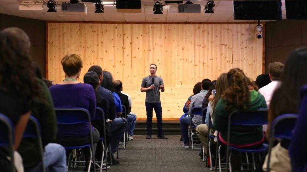 El presidente ejecutivo de Facebook, Mark Zuckerber.