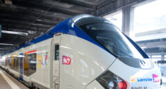 Un tren regional de Alstom, en Francia.