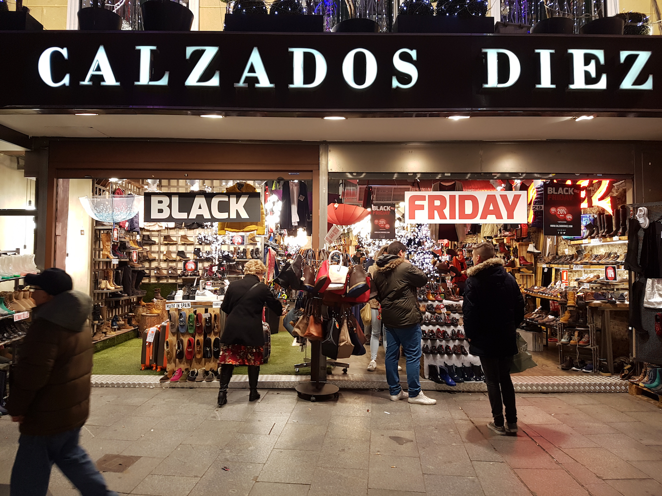 Black Friday en el comercio tradicional