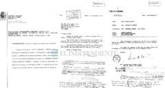 La AN confirma que los  papeles que rebaten a Terceiro sobre las black son auténticos
