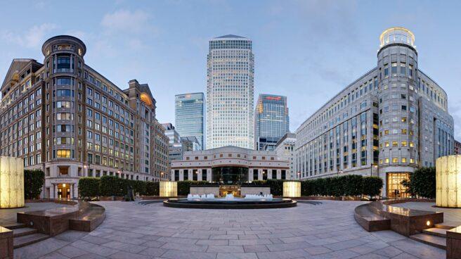 Canary Wharf, distrito financiero de Londres.