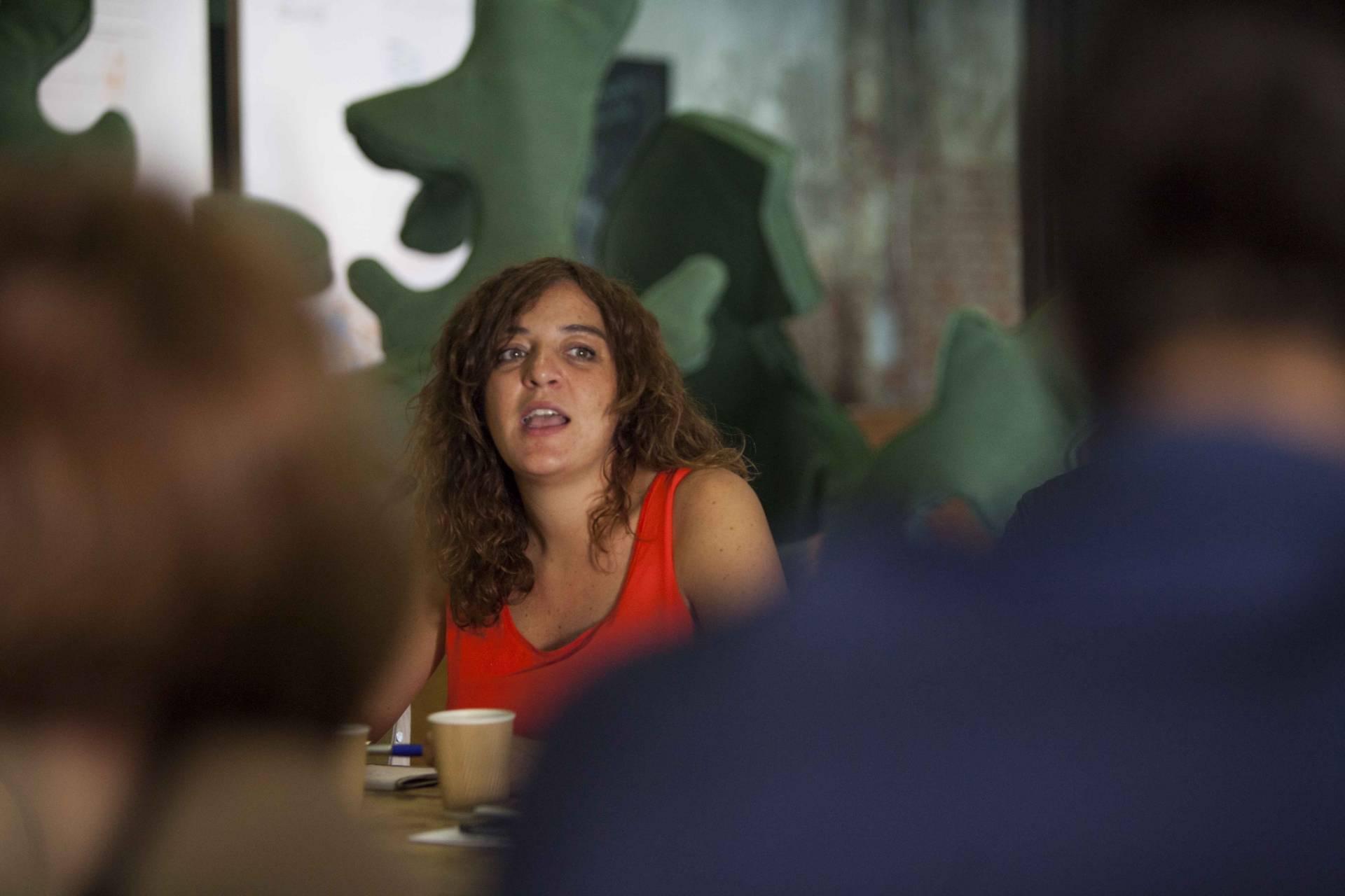 La ex delegada de Cultura y Deportes del Ayuntamiento de Madrid, Celia Mayer.