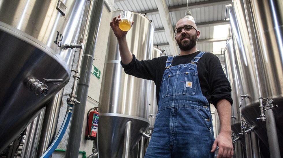 Javier Riesgo, fundador de cervezas La Virgen.