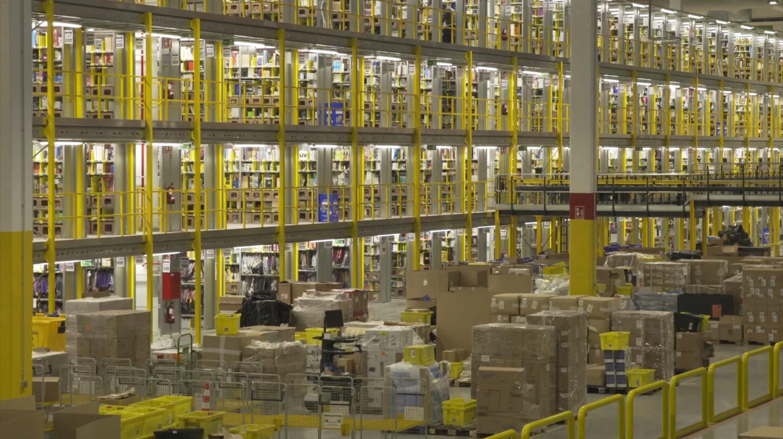 Centro logistico de Amazon