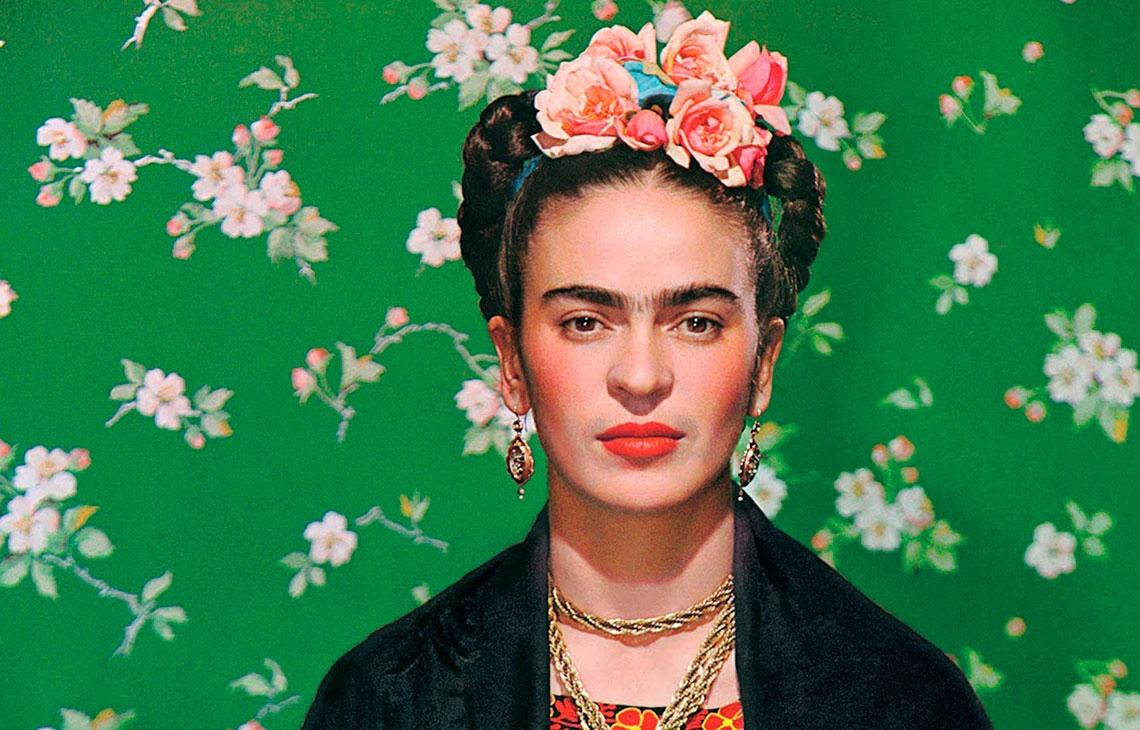 Frida Kahlo, 60 años del autorretrato inacabado de Diego Rivera.