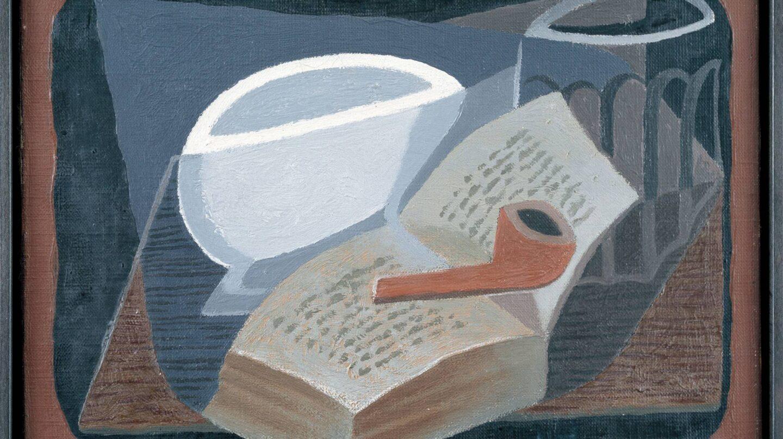 Libro y pipa de Juan Gris
