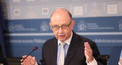Cristobal Montoro, ministro de Hacienda y Administraciones públicas en funciones.