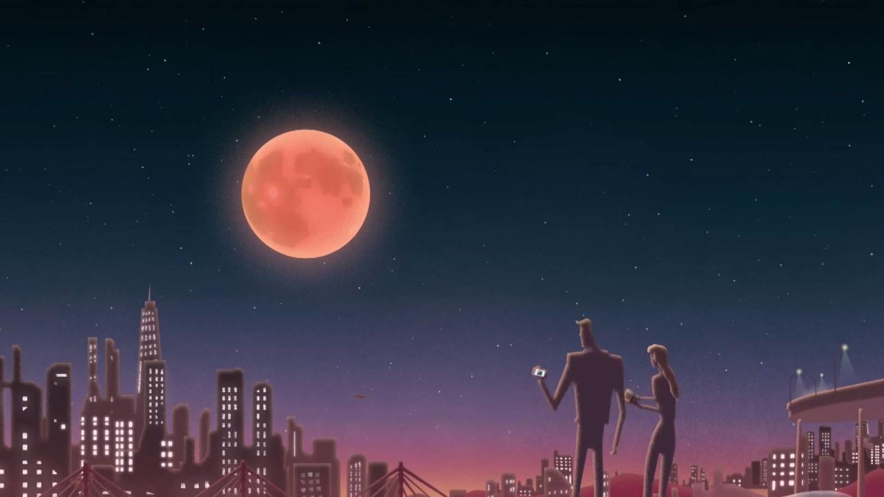 Ilustración superluna