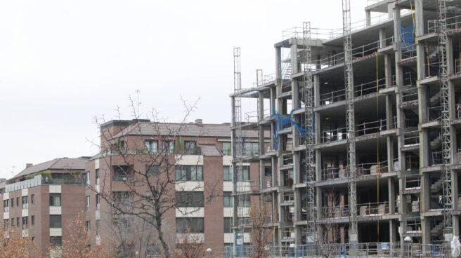 Una promocion de viviendas, en 2015.