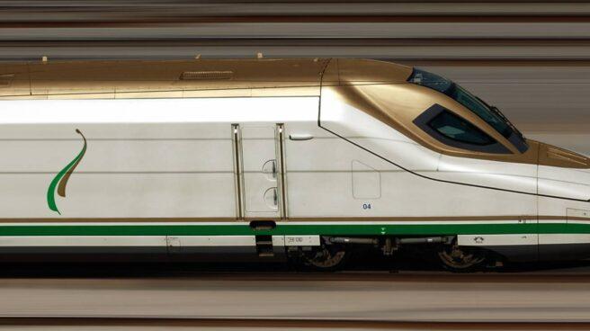 El tren que Talgo diseñó para el AVE a La Meca.