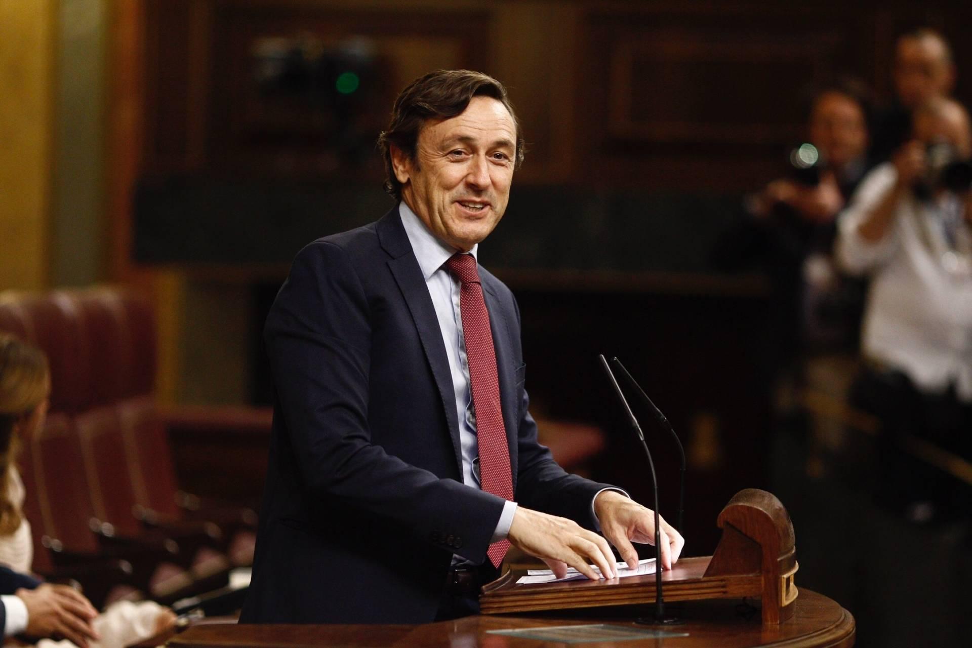 El portavoz del Partido Popular en el Congreso de los Diputados, Rafael Hernando.