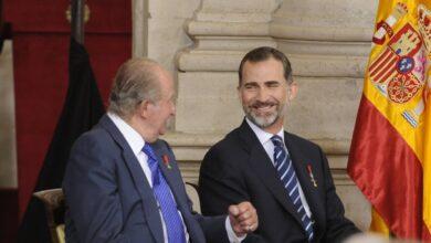 Felipe VI supo en 2019 que su padre le nombró beneficiario de su fundación panameña