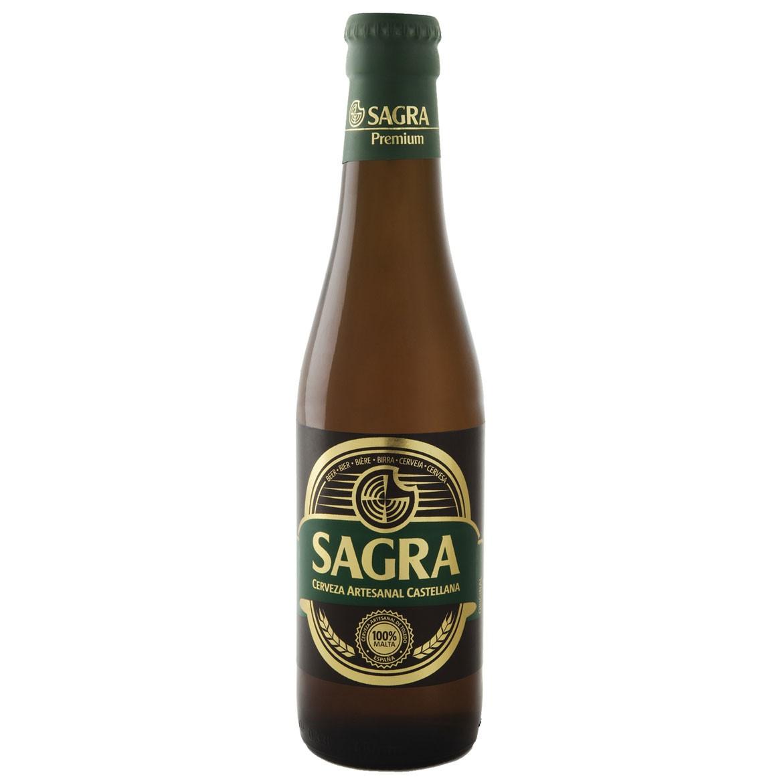 Una cerveza rubia de alta fermentación con gusto y aroma a frutas, es el resultado de a una combinación perfecta de las mejores variedades de maltas y lúpulos de España y de Alemania.