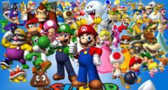 Imagen promocional del videojuego Super Mario Bros, de Nintendo.