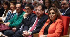 Susana Díaz, durante la presentación del libro de Guillermo Fernández Vara, en 2016.