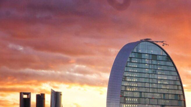 Sede del BBVA en Las Tablas, Madrid.